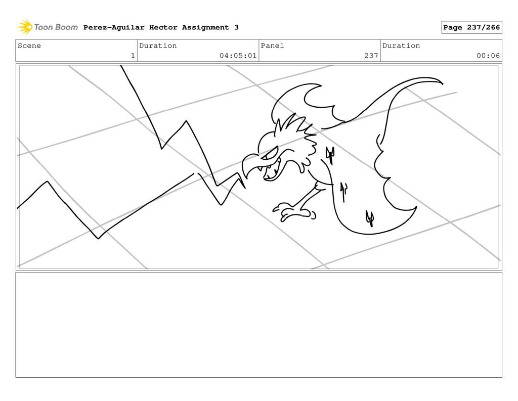 Scene 1 Duration 04:05:01 Panel 237 Duration 00...