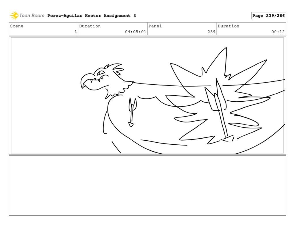 Scene 1 Duration 04:05:01 Panel 239 Duration 00...