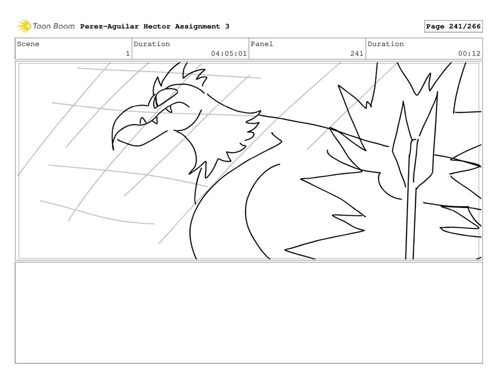 Scene 1 Duration 04:05:01 Panel 241 Duration 00...