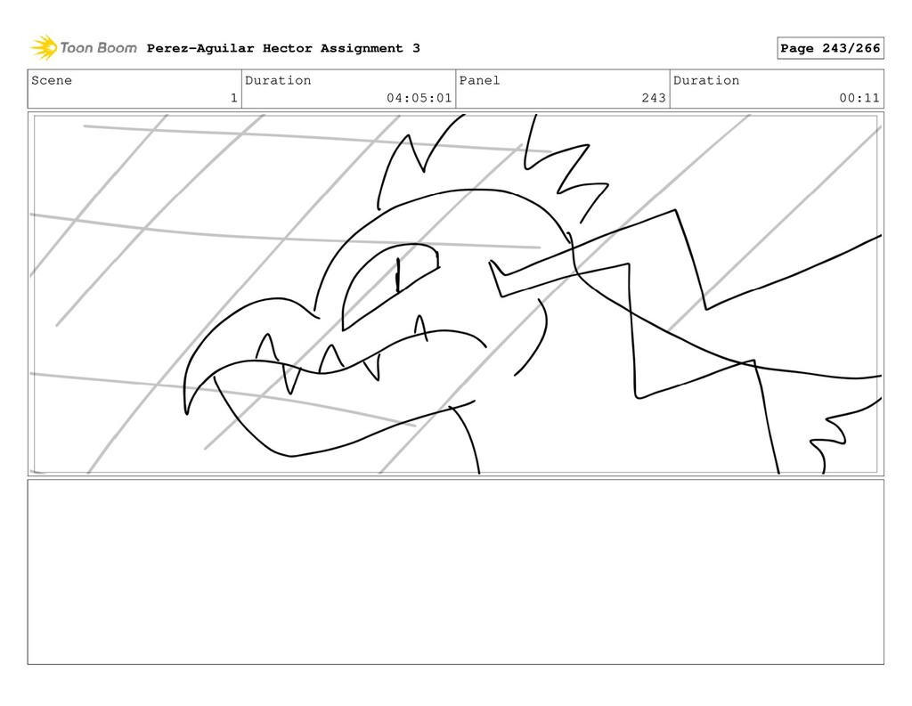 Scene 1 Duration 04:05:01 Panel 243 Duration 00...