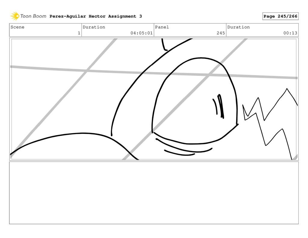Scene 1 Duration 04:05:01 Panel 245 Duration 00...