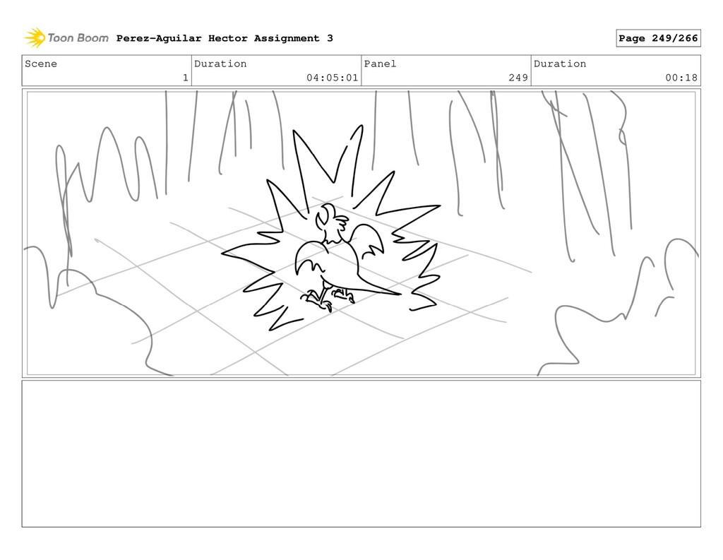 Scene 1 Duration 04:05:01 Panel 249 Duration 00...