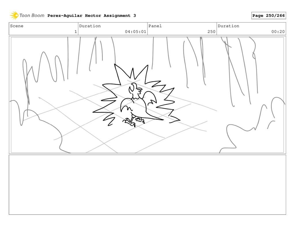 Scene 1 Duration 04:05:01 Panel 250 Duration 00...