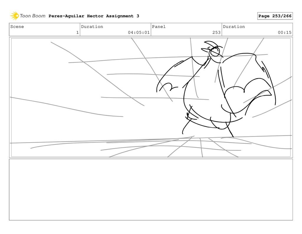 Scene 1 Duration 04:05:01 Panel 253 Duration 00...