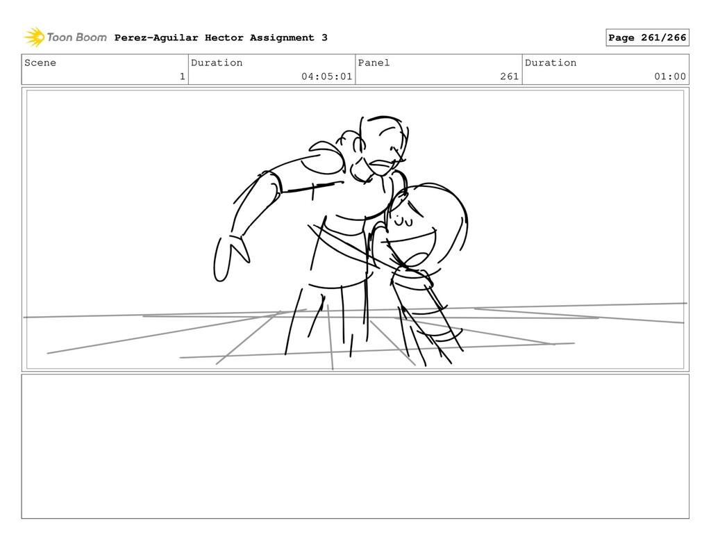 Scene 1 Duration 04:05:01 Panel 261 Duration 01...