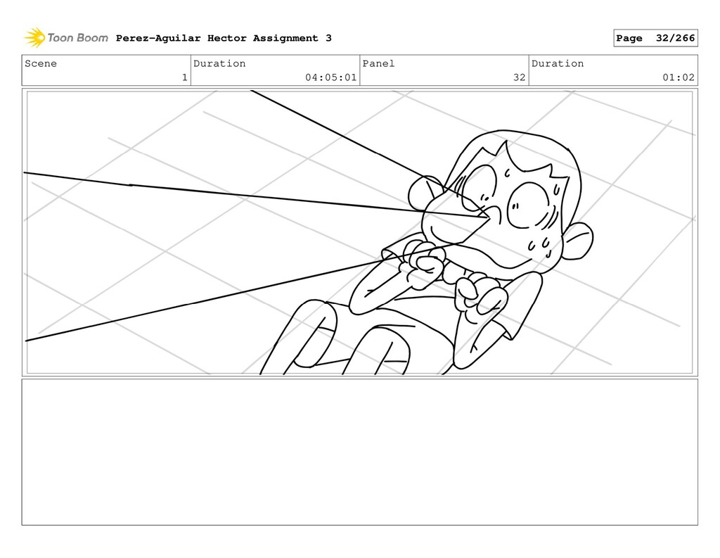 Scene 1 Duration 04:05:01 Panel 32 Duration 01:...