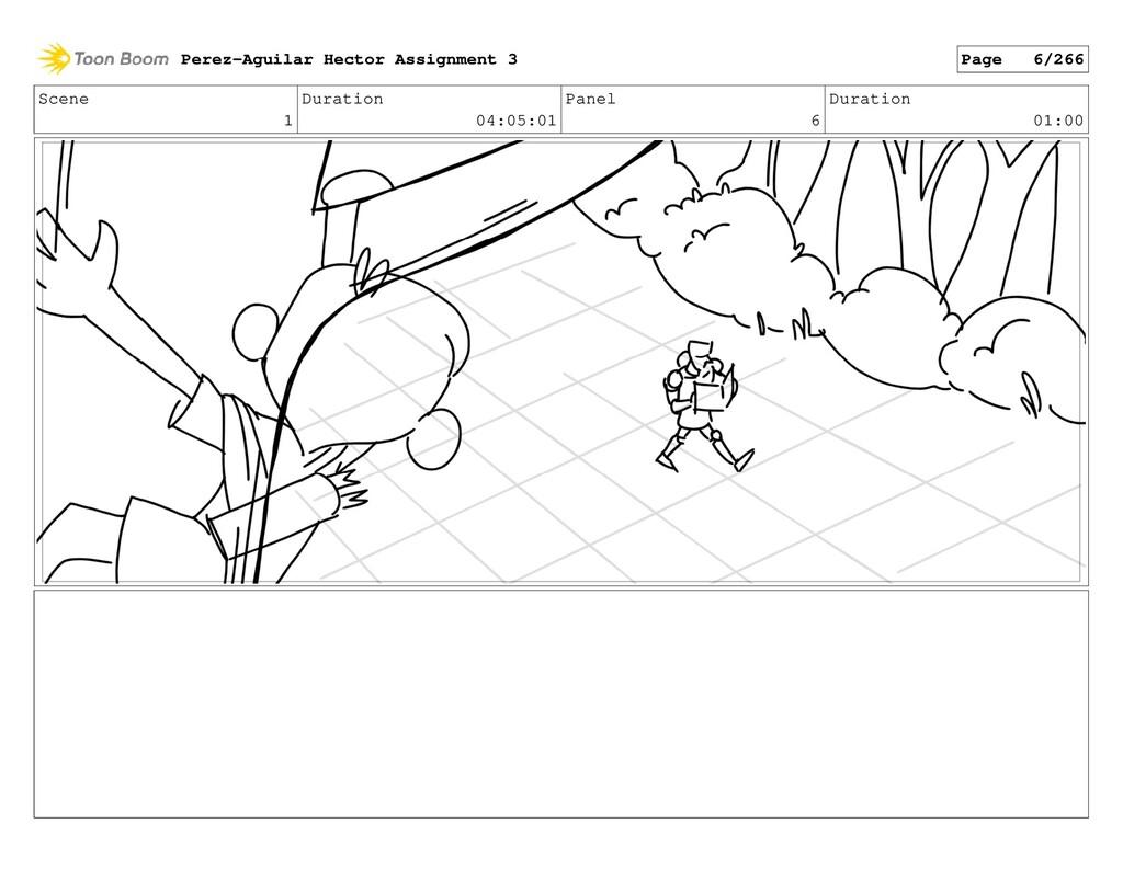 Scene 1 Duration 04:05:01 Panel 6 Duration 01:0...