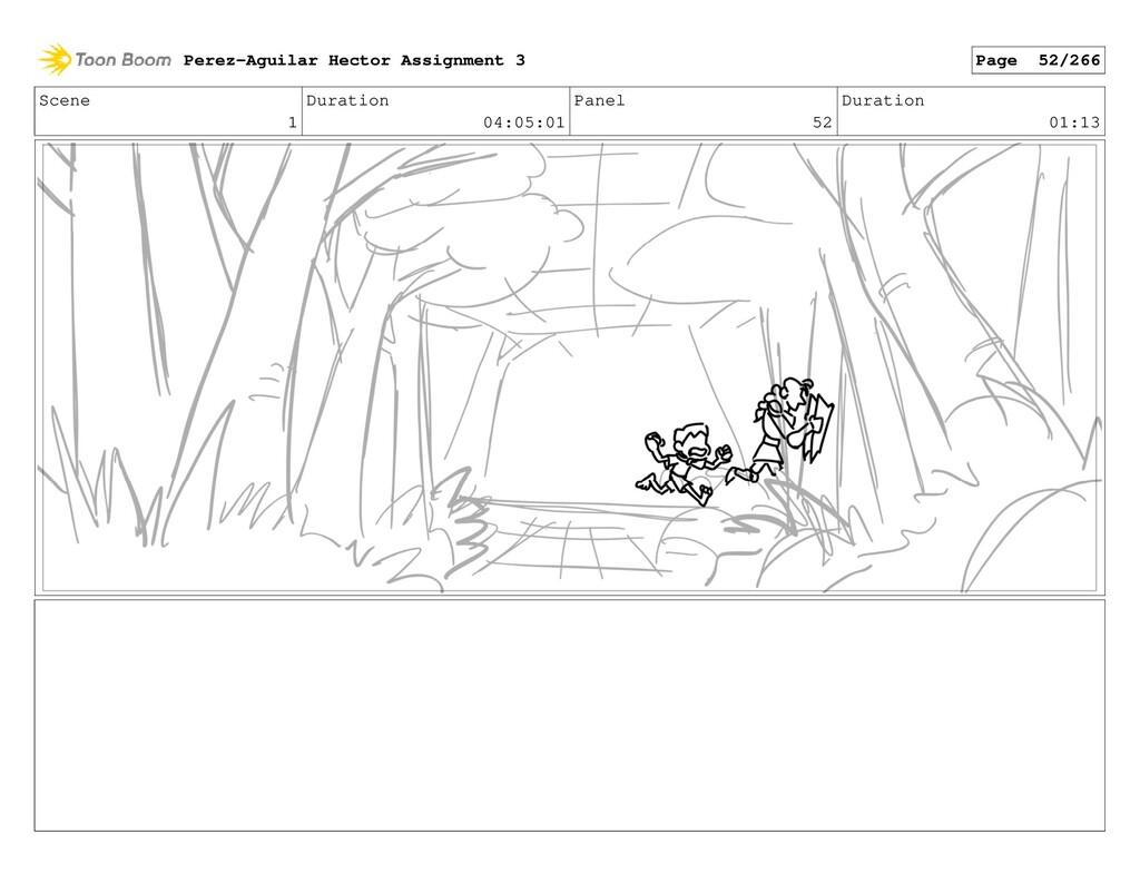 Scene 1 Duration 04:05:01 Panel 52 Duration 01:...