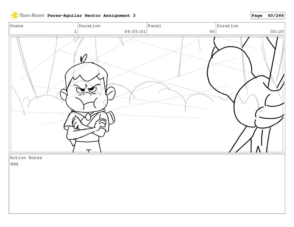Scene 1 Duration 04:05:01 Panel 60 Duration 00:...