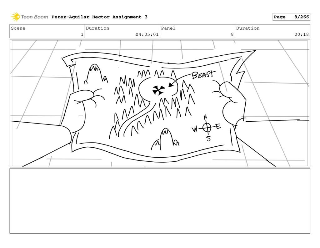 Scene 1 Duration 04:05:01 Panel 8 Duration 00:1...