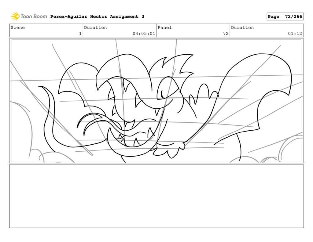 Scene 1 Duration 04:05:01 Panel 72 Duration 01:...