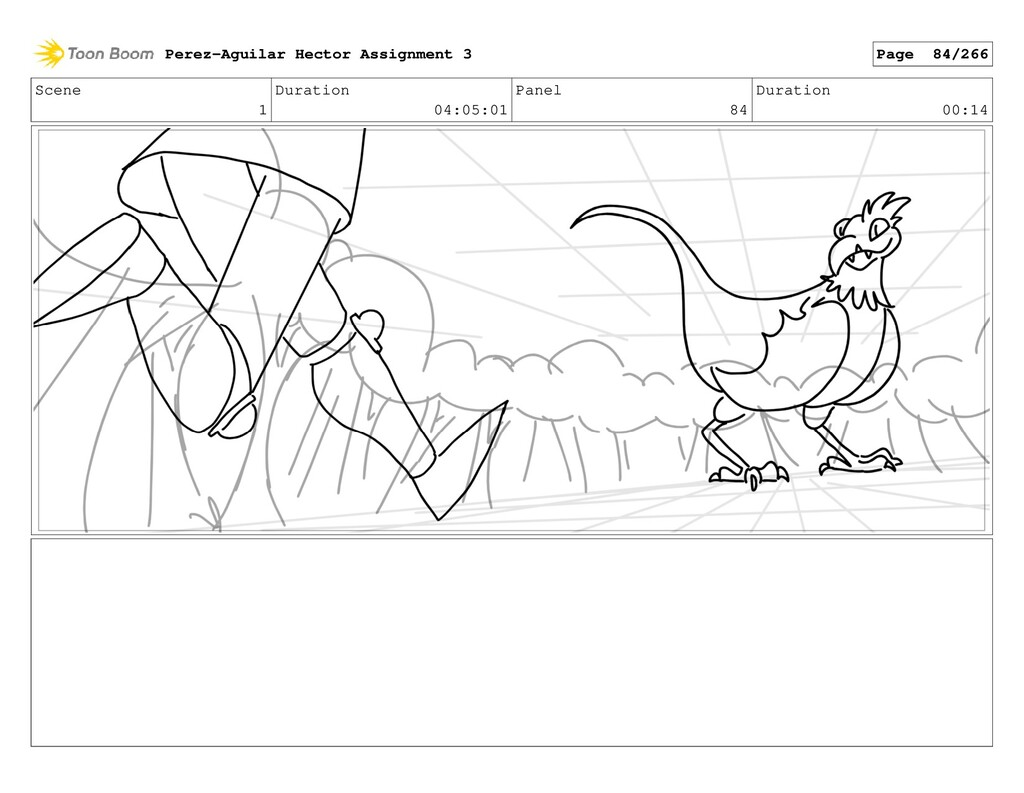 Scene 1 Duration 04:05:01 Panel 84 Duration 00:...