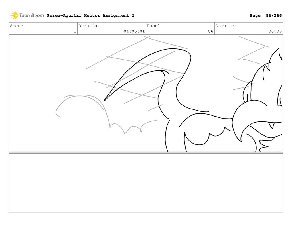 Scene 1 Duration 04:05:01 Panel 86 Duration 00:...