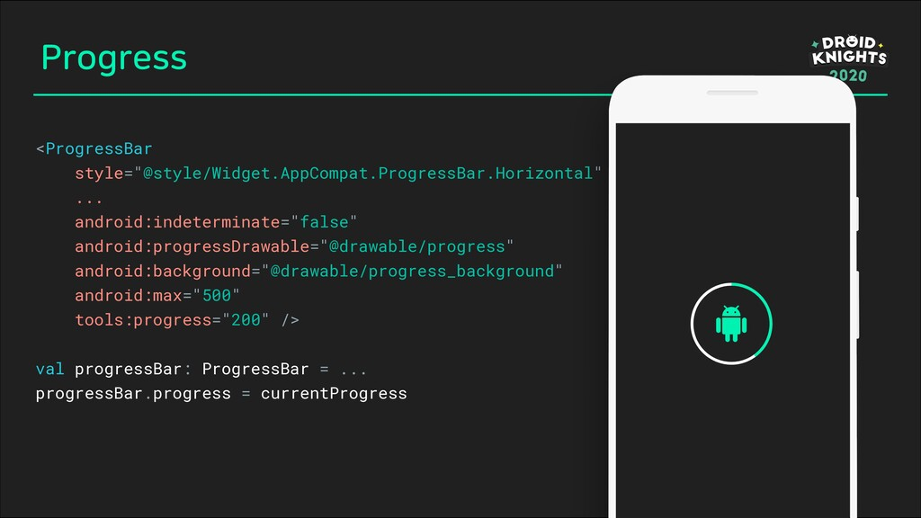 "Progress <ProgressBar style=""@style/Widget.AppC..."