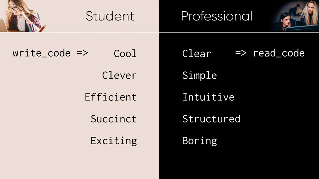 Student Professional Cool Clever Efficient Succ...
