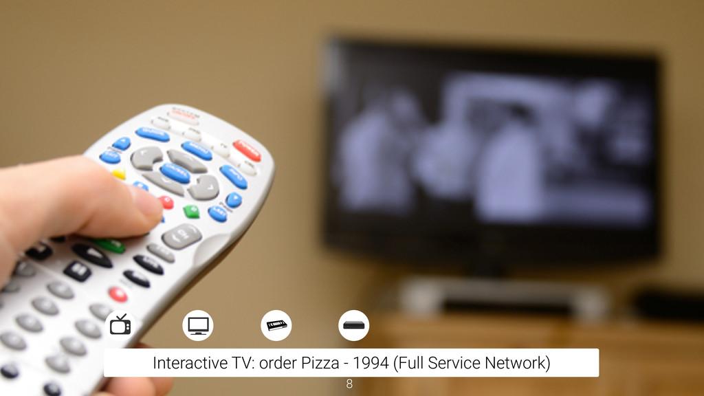 Interactive TV: order Pizza - 1994 (Full Servic...