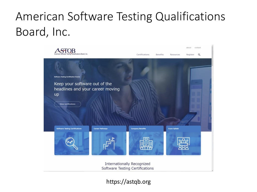 American Software Testing Qualifications Board,...