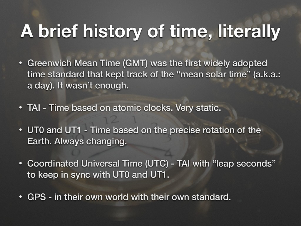 A brief history of time, literally • Greenwich ...
