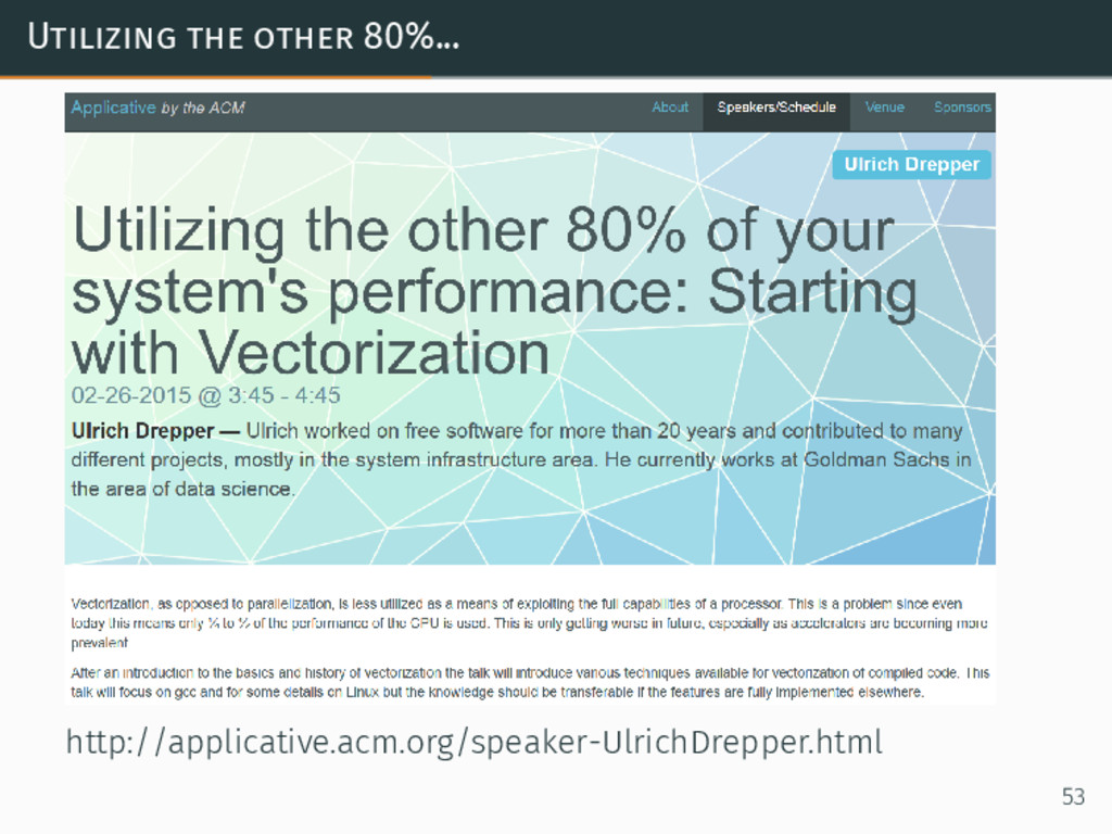 Utilizing the other 80%... http://applicative.a...