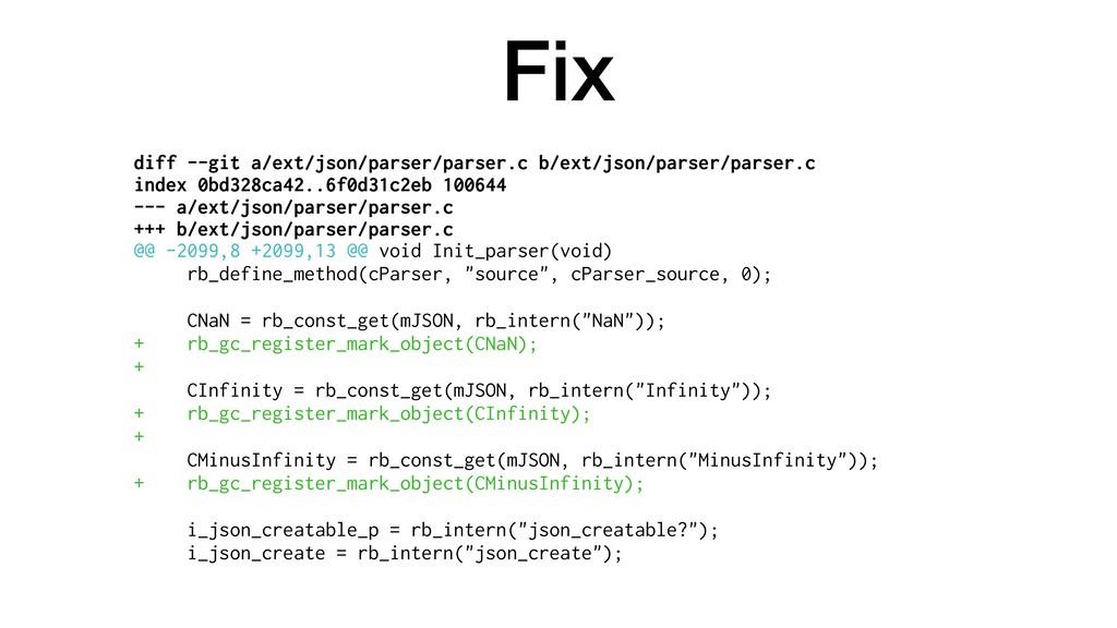 Fix diff --git a/ext/json/parser/parser.c b/ext...