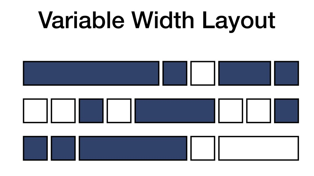 Variable Width Layout