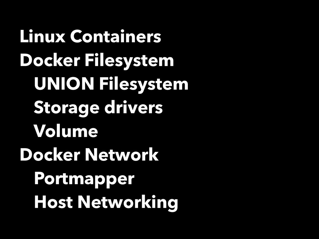 Linux Containers Docker Filesystem UNION Filesy...