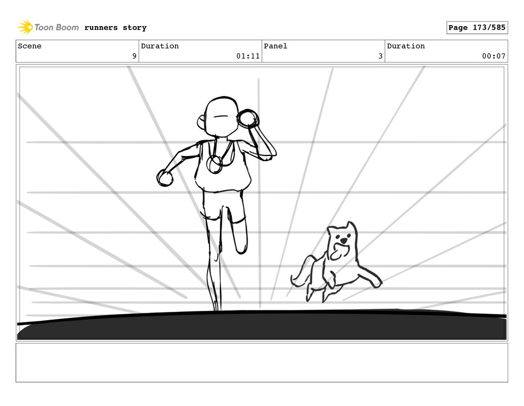 Scene 9 Duration 01:11 Panel 3 Duration 00:07 r...