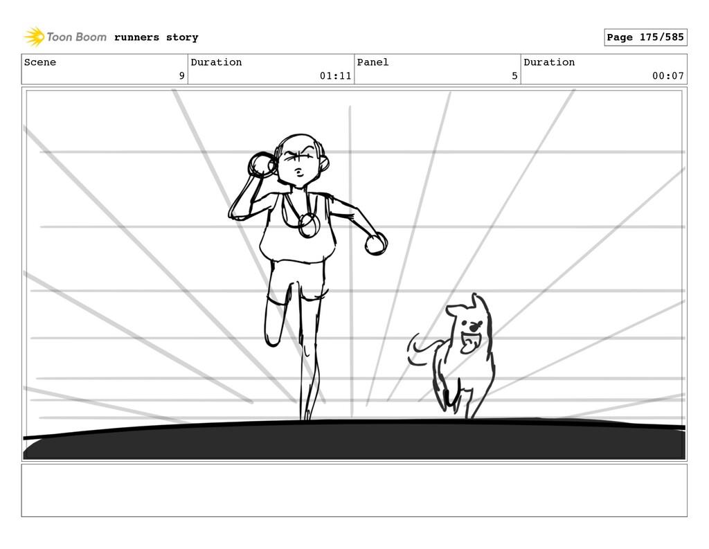 Scene 9 Duration 01:11 Panel 5 Duration 00:07 r...