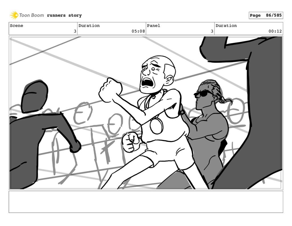 Scene 3 Duration 05:08 Panel 3 Duration 00:12 r...