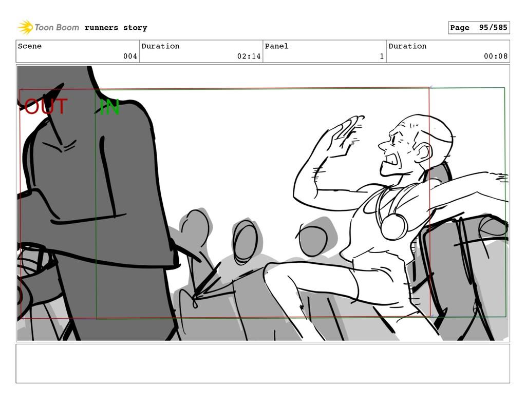 Scene 004 Duration 02:14 Panel 1 Duration 00:08...