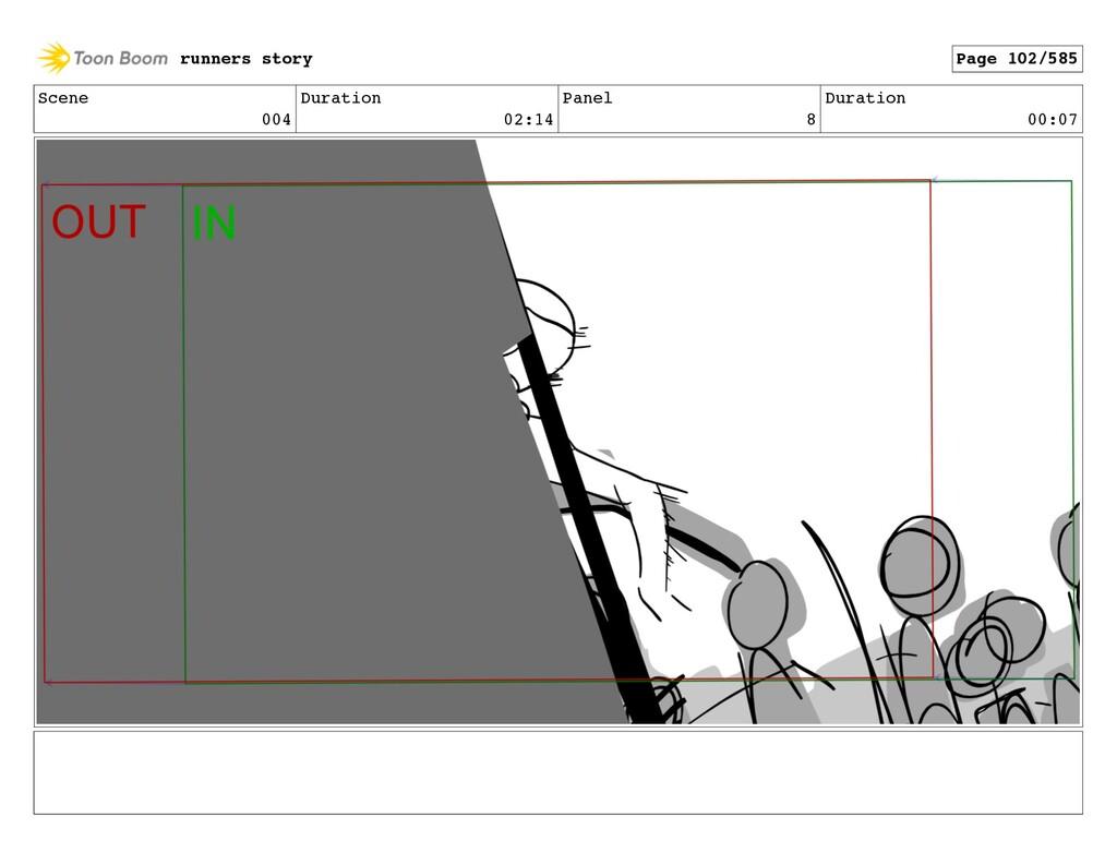 Scene 004 Duration 02:14 Panel 8 Duration 00:07...