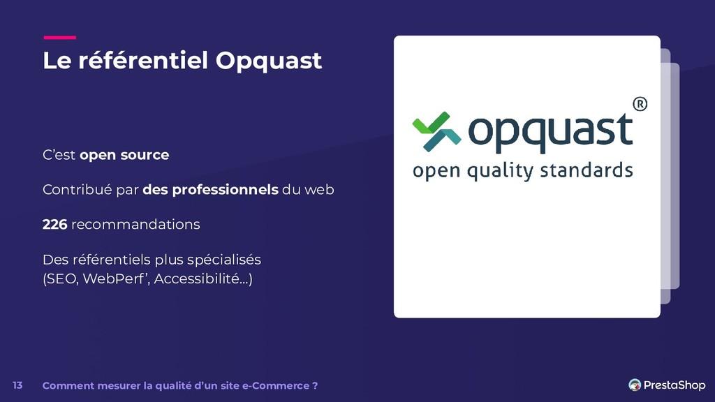 Le référentiel Opquast C'est open source Contri...