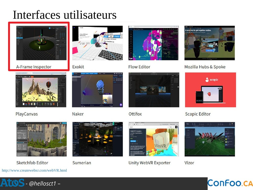 - @hellosct1 – Interfaces utilisateurs http://w...