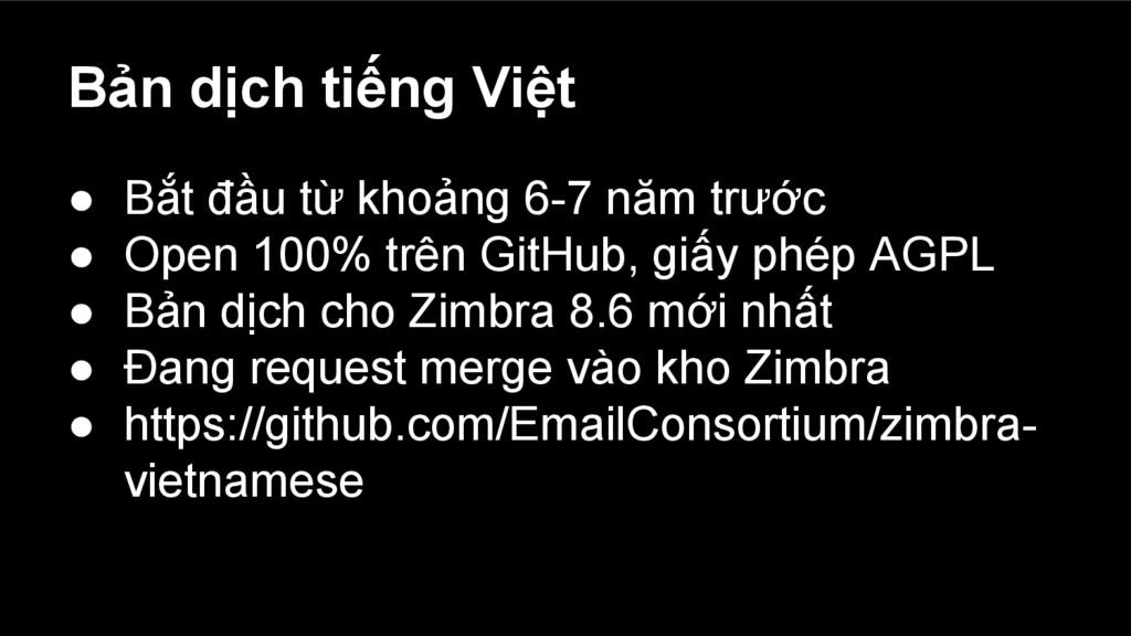 Bản dịch tiếng Việt ● Bắt đầu từ khoảng 6-7 năm...
