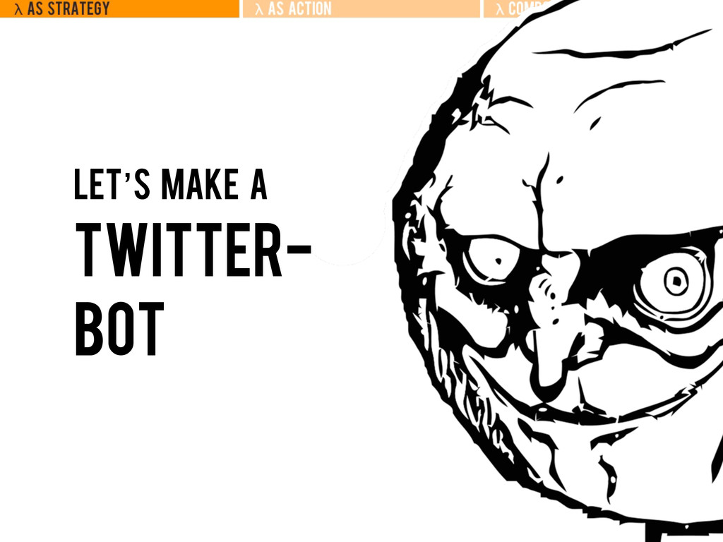Let's make a twitter- bot