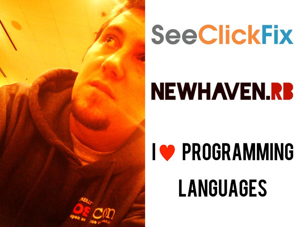 i — Programming languages
