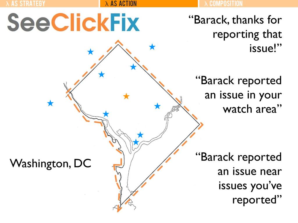 """Washington, DC ˒ ˒ ˒ ˒ ˒ ˒ ˒ ˒ ˒ ˒ """"Barack, tha..."""