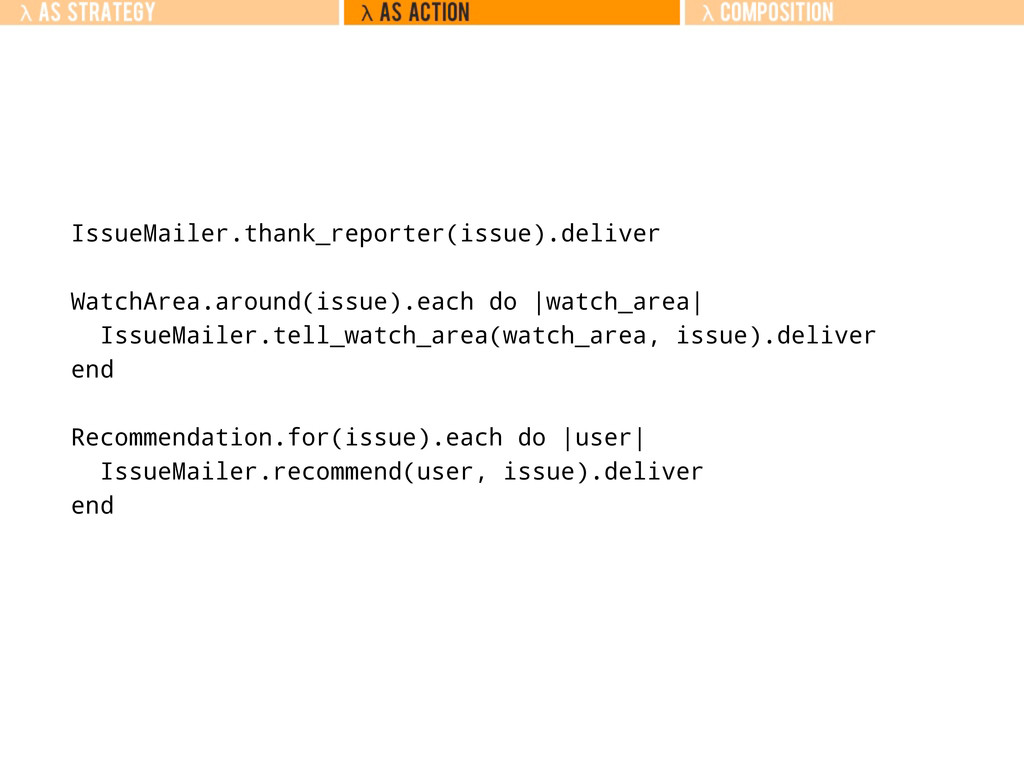 IssueMailer.thank_reporter(issue).deliver Watch...