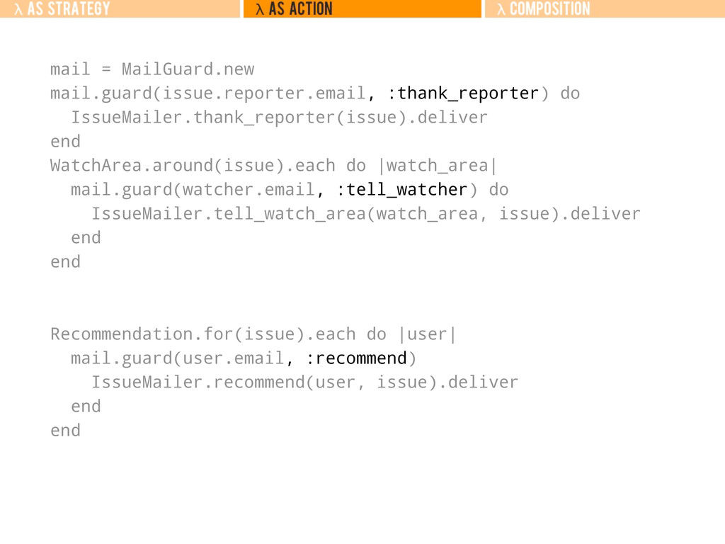 mail = MailGuard.new mail.guard(issue.reporter....
