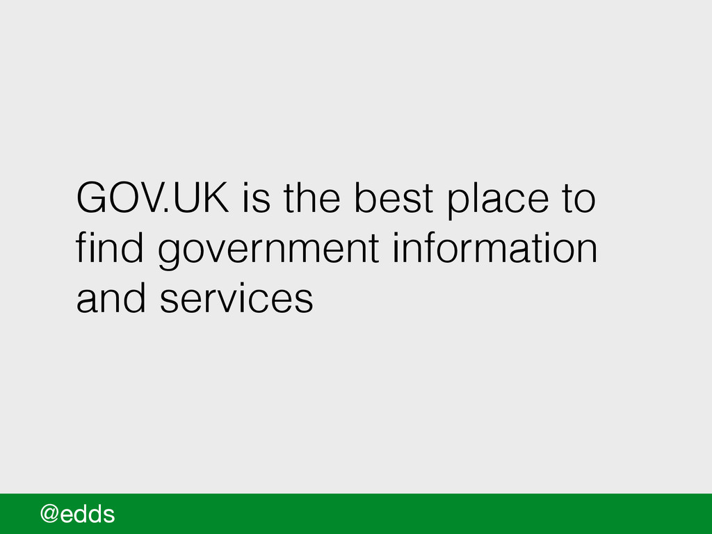 GOV.UK is the best place to find government info...