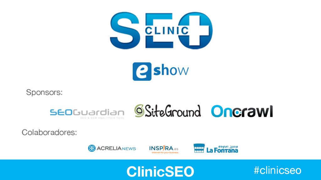Colaboradores: #clinicseo Sponsors: ClinicSEO #...