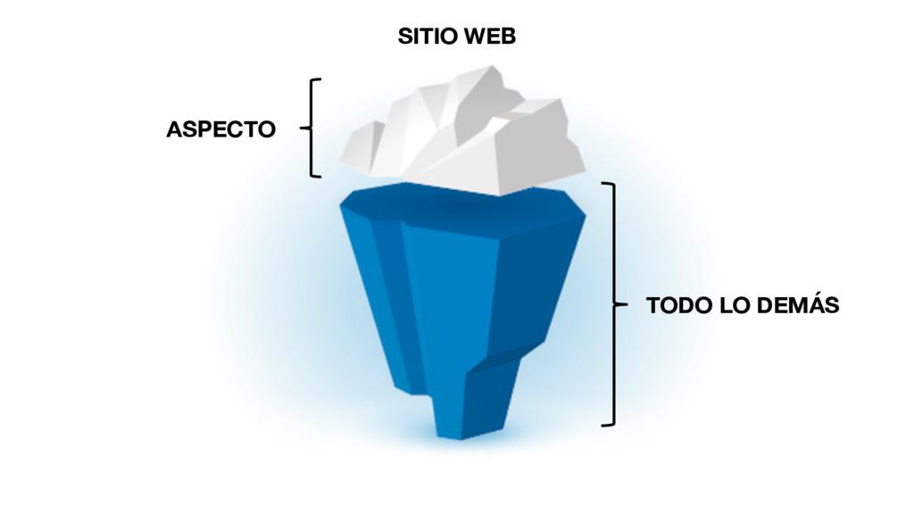 ASPECTO TODO LO DEMÁS SITIO WEB