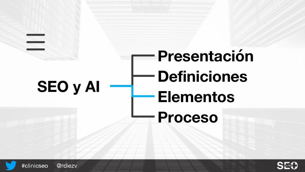 @rdiezv #clinicseo SEO y AI Presentación Defini...