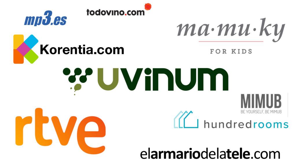 elarmariodelatele.com Korentia.com mp3.es