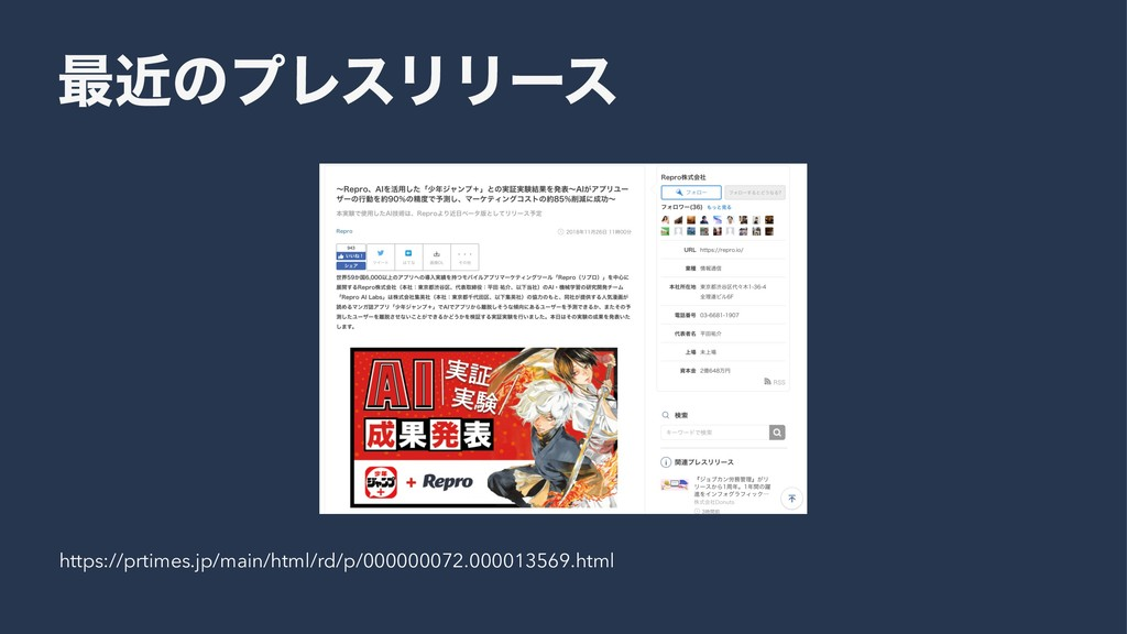 ࠷ۙͷϓϨεϦϦʔε https://prtimes.jp/main/html/rd/p/00...