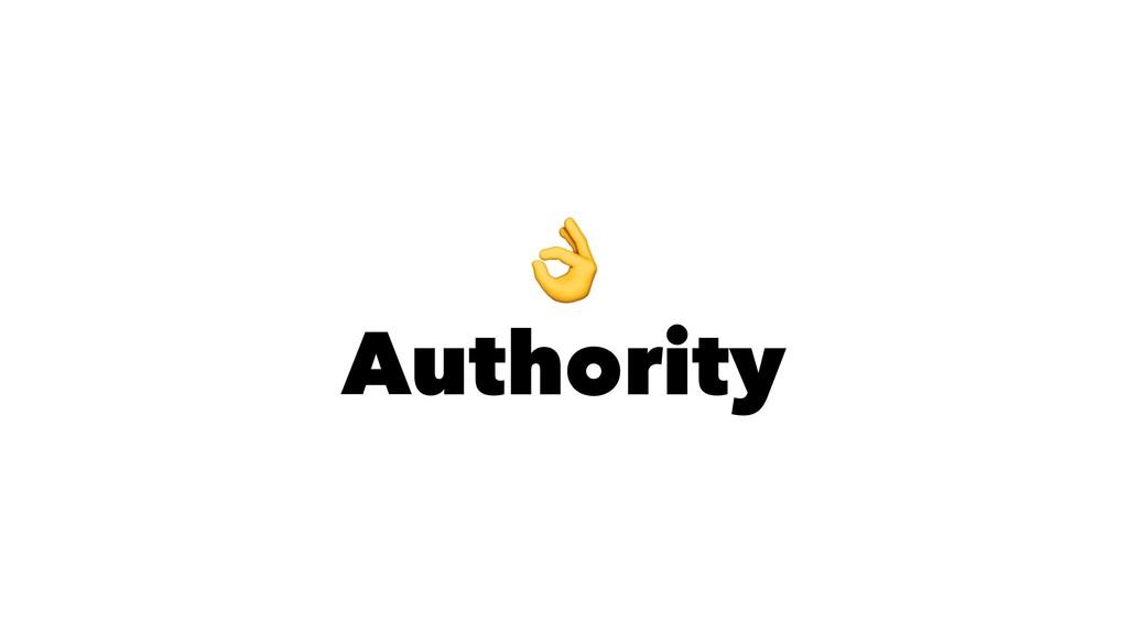 ! Authority