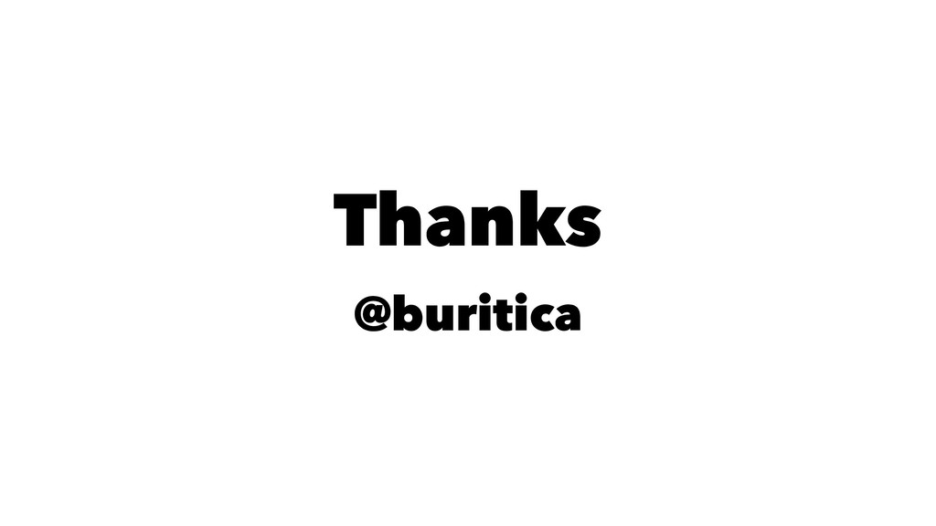 Thanks @buritica
