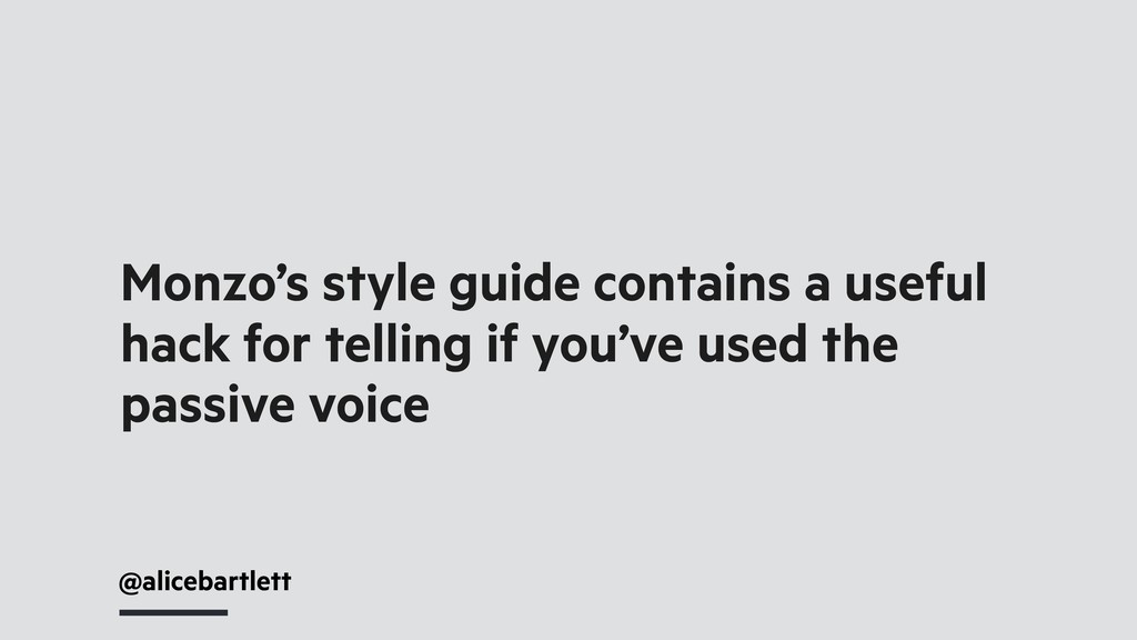 @alicebartlett Monzo's style guide contains a u...