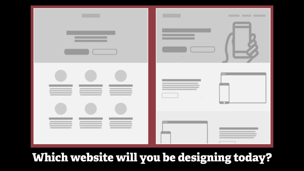 Which website will you be designing today?