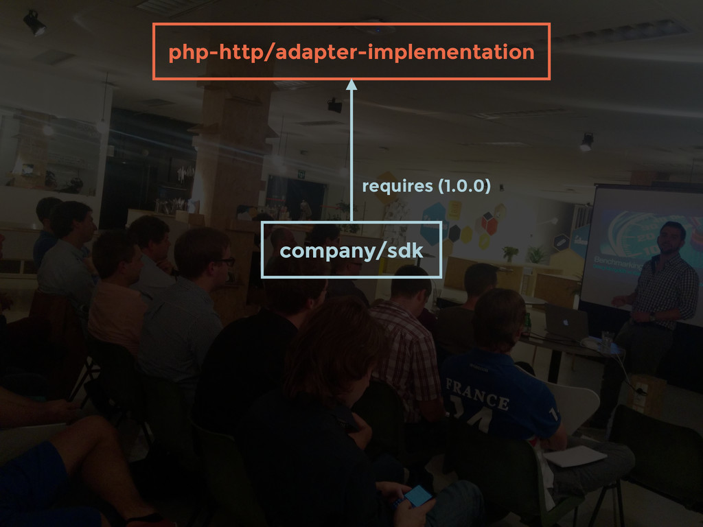 company/sdk requires (1.0.0) php-http/adapter-i...